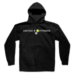 Logo - Hooded Pullover Sweatshirt - Black Thumbnail