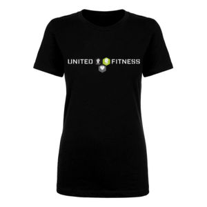 Logo - Ladies Short Sleeve T-shirt - Black Thumbnail