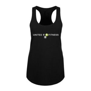 Logo - Ladies Racerback Tank Top - Black Thumbnail