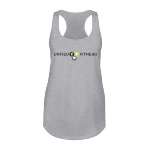 Logo - Ladies Racerback Tank Top - Light Heather Gray Thumbnail