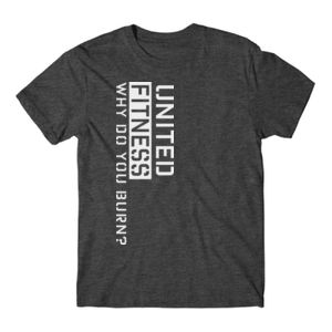 Burn - Short Sleeve T-shirt - Charcoal Heather Gray Thumbnail