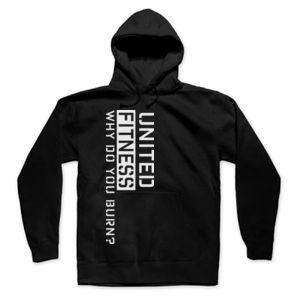 Burn - Hooded Pullover Sweatshirt - Black Thumbnail