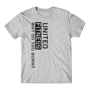 Burn - Short Sleeve T-shirt - Light Heather Gray Thumbnail