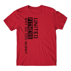 Burn - Short Sleeve T-shirt - Red Thumbnail