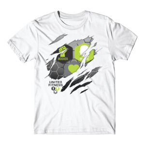 Ripped - Short Sleeve T-shirt - White Thumbnail